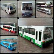 Sammlungsauflösung Bus LKW Modelle 1
