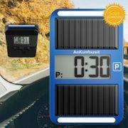Parkscheibe Parkzeitei Solar Parkuhr Solarparkuhr