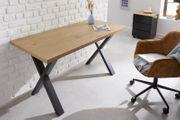 NEU Schreibtisch Loft 140cm Eichenoptik