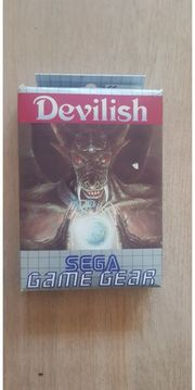 Sega game gear Devilish ovp