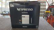 Nespresso Inissia Krups weiss Kaffeepadmaschine