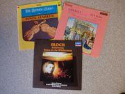 Klassik LPs teilw seltene Aufnahmen