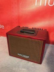 KAT120 PROFI Akustik-Verstärker Gitarren Amp