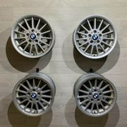 4x Alufelgen Original BMW 3er