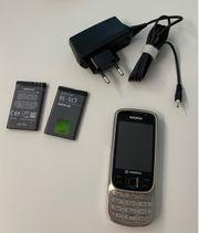 Nokia 6303c schwarz silber mit