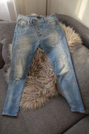 PLEASE Jeans stonewashed