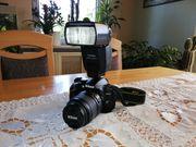 Digitale Spiegelreflexkamera Nikon D3200 mit