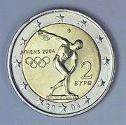 2 Euro Münze 2004