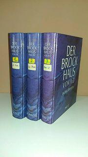 3 Bücher Der Brockhaus von
