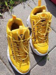Gelbe Fila Schuhe Größe 40