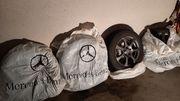 Mercedes C 180 Winterreifen Alu