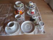 Espressotassen Tassen und Unterteller