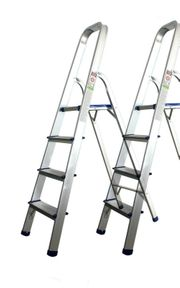 2x Leiter 4stufig 76cm Stehh