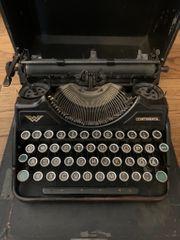 Reise Schreibmaschine Continental Wanderer Werke
