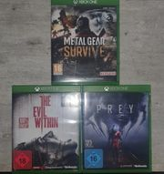 Xbox One Spiele 3 Stück