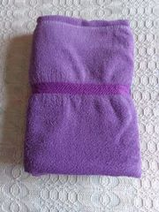 Handwäsche Handtuch Badelaken Saunatuch lila