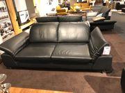 2x 2er Luxus Leder Sofas