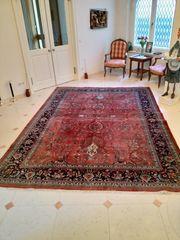 Indischer Sarugh Teppich - Größe 247x333