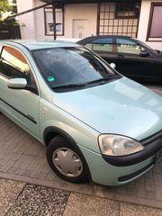 Opel Corsa C anmelden losfahren