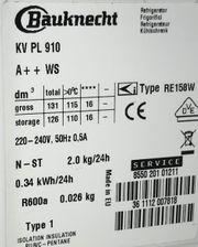 Kühlschrank Bauknecht KV PL 910
