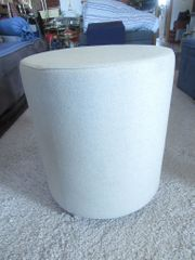 Sitzhocker Polsterhocker sand