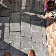 Terrassen-Gehwegsteine Grau
