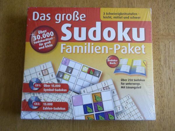 Sudoku Spiel Familien Paket für