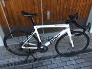 Rennrad BMC SLR01 Speziallackierung weiss