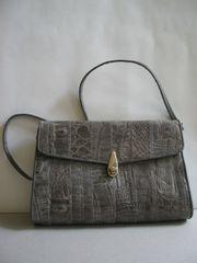 Elegante Damenhandtasche Krokodilleder IRV