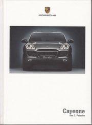 Prospekt Buch Porsche Cayenne 2002