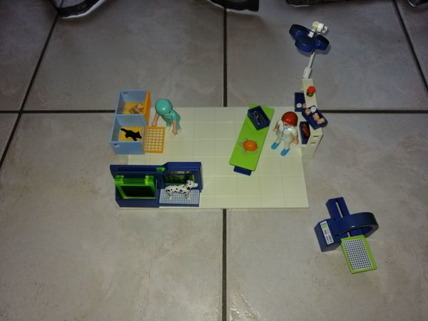 Playmobil Tierarztpraxis 4346