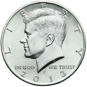 Half Dollar USA John F