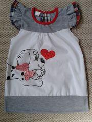 Baby Mädchen Sommer Kleid Hund