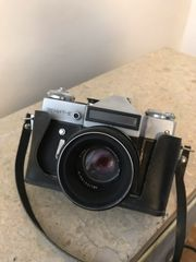 Sowjetische Zenit E Kamera mit