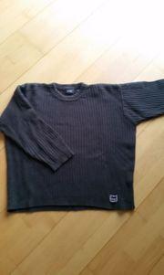 Pullover gr S dunkelgau und