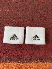 1paar weiße Adidas Schweißbänder