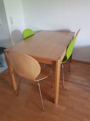 Tisch zu verschenken und stuehle