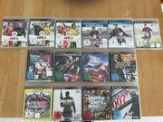 diverse Spiele für Sony PlayStation