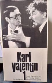 Karl Valentin 4 VHS-Kassetten