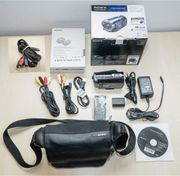 Set Sony Full HD Camcorder