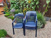 4 Gartenstühle stapelbar