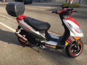 Roller KEEWAY Racing RY6 50