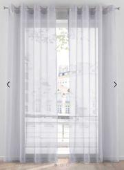 Gardinen transparent