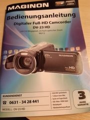 Digitaler Full-HD CAMCORDER DV-23HD