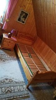 Single Schlafzimmer Kiefernholz
