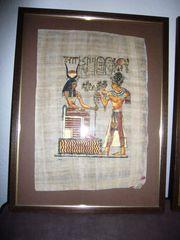 Ägypten -Papyrus- geschichtl Motive v