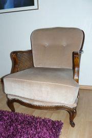 Sessel - Armchair - mit Wiener Geflecht