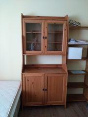 Glasvitrine Ikea Serie Hermes Holz