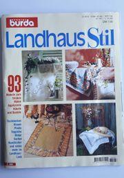 BURDA SPECIAL Stickheft Landhaus Stil -
