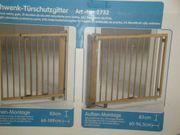 Schwenk-Türschutzgitter